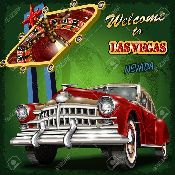 Willkommen bei Retro Plakat Las Vegas.