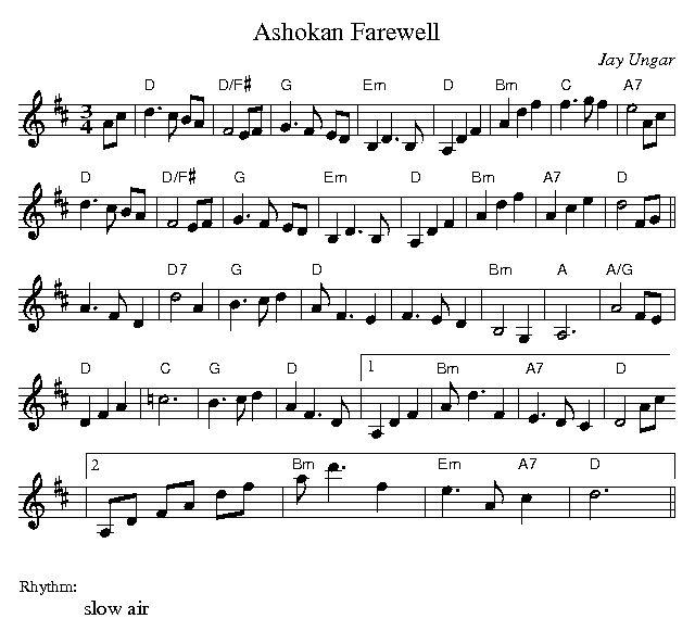 Ashokan Farewell Sheet Music Violin Download: Ashokan Farewell Fiddle Sheet Music  Mn0054229gif With Mn0054229,Instruments