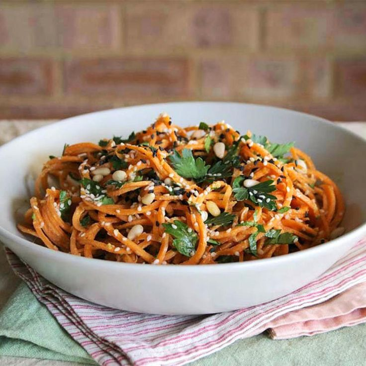Spiralizer Recipes: Carrot Pasta - Fitnessmagazine.com