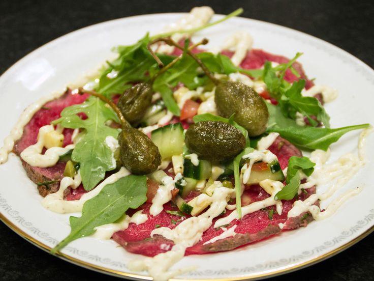 Carpaccio på älg | Recept från Köket.se