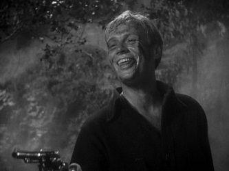 Richard Widmark en El parador del camino (1948)