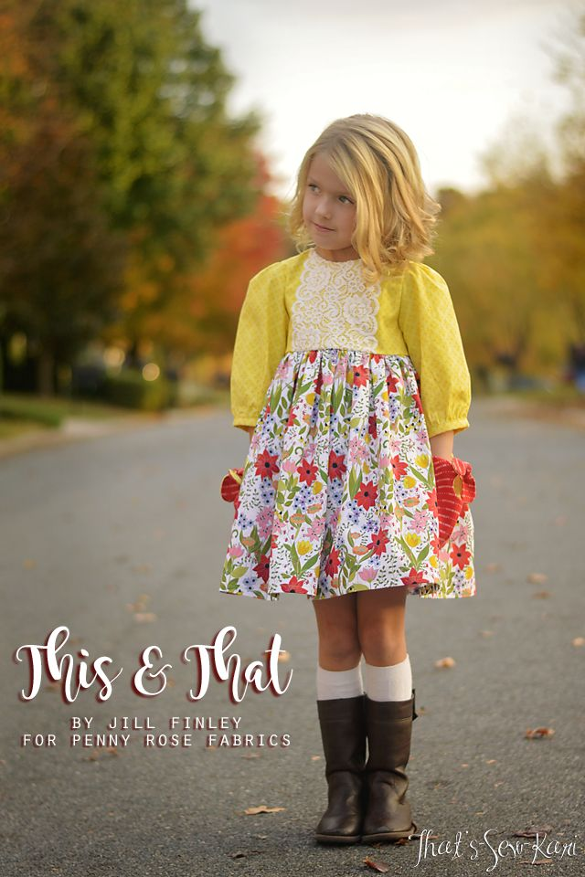 {BLOG TOUR} This & That by Jill Finley for Penny Rose Fabrics | That's-Sew-Kari
