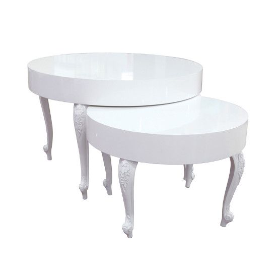 White Nesting Table For Retail Store ~ Best custom displays images on pinterest nesting