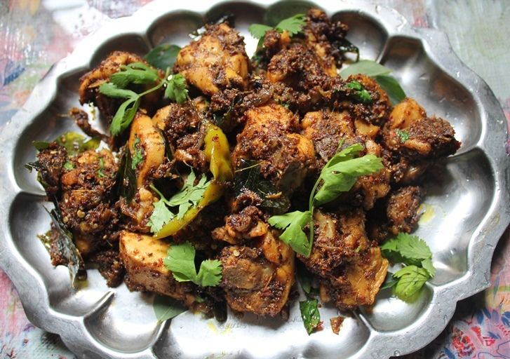 I love chettinad cooking, it is spicy and addictive. I have a chettinad mutton curry, chettinad potato roast, chettinad mushroom, chettinad chicken curry, chettinad egg curry, chettinad fish curry..Check out all my chettinad dishes too.. This is another dish to my repitore..A spicy roast made with chicken so yummy and addictive..You can check out my...Read More