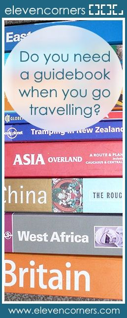 Do you need a guidebook when you go travelling?  #elevencorners #guidebooks #travelblogger #travelblog #travel