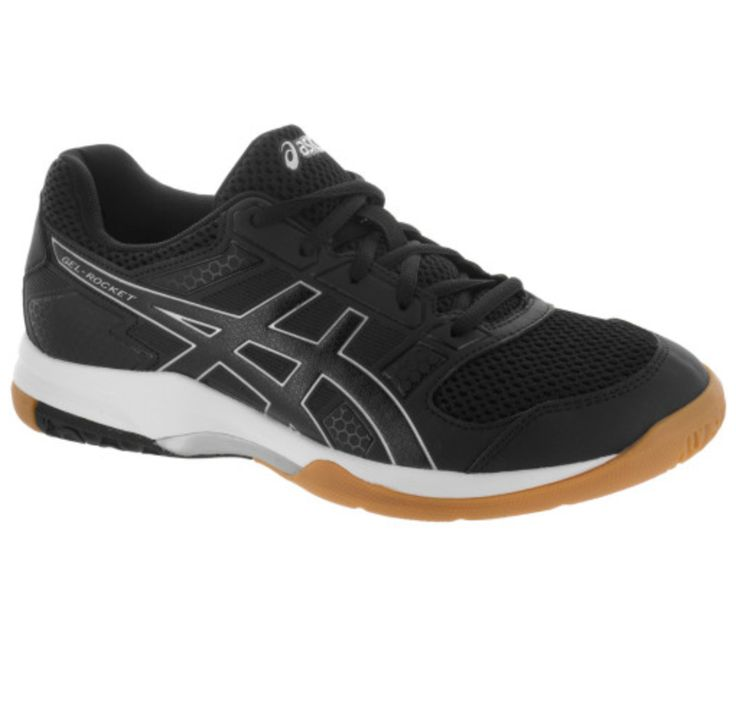 Black Asics shoes size 10 to replace my worn out, stinky, and old ones I've been using for table tennis.