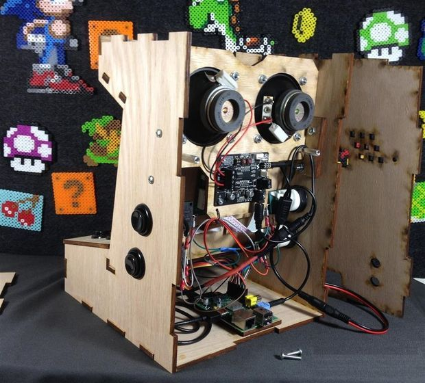 how to make an arcade machine with raspberry pi