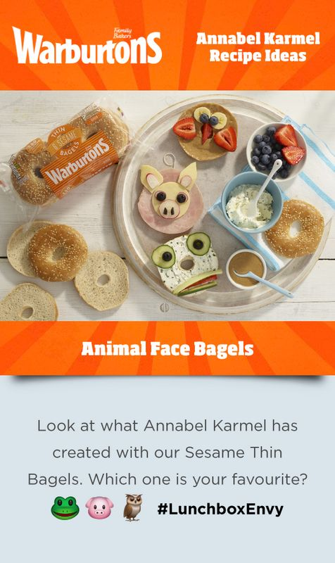 We have partnered with leading children's food expert Annabel Karmel to inspire parents with fun and creative lunchbox recipes! Learn more here.