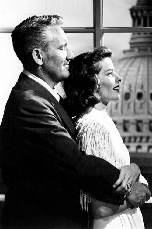 Katherine Hepburn and Spencer Tracy....Reports from people who saw them together describe how Hepburn's entire demeanor changed when around Tracy. She mothered and obeyed him, and Tracy became heavily dependent on her. They often spent stretches of time apart due to their work, particularly in the 1950s when Hepburn was largely abroad for career commitments.