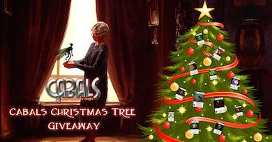 Christmas Tree Giveaway News | Cabals: Magic & Battle Cards