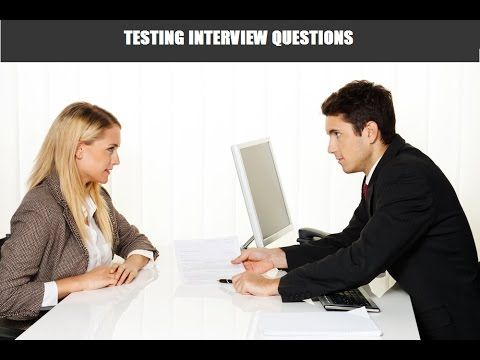 Software Testing Interview questions https://www.youtube.com/watch?v=_8ED0ydZBUE #software #testing #interview #questions