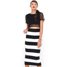 save 25% on Motel Rocks Bobbie Bodycon Tube Skirt in Huge Stripe  on the NEW ROKII ONLINE SHOP, as seen on TOWIE & sam Faiers, Rokii Portsmouth, www.rokii.co.uk Order through FB or on the phone 02392294081 and get FREE LOCAL DELIVERY PO1-PO6, Lay Away until Christmas