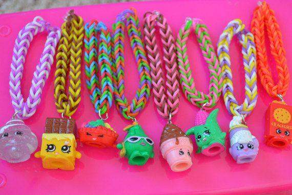 Shopkins Party Favor Pack/ Shopkins Rainbow Loom by JanviaBoutique