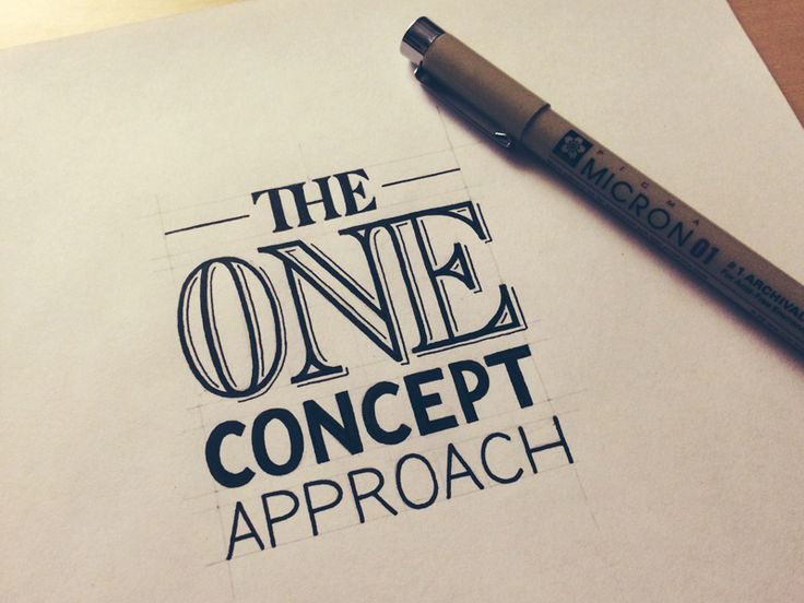 The One Concept Approach: How a Professional Designs A Logo