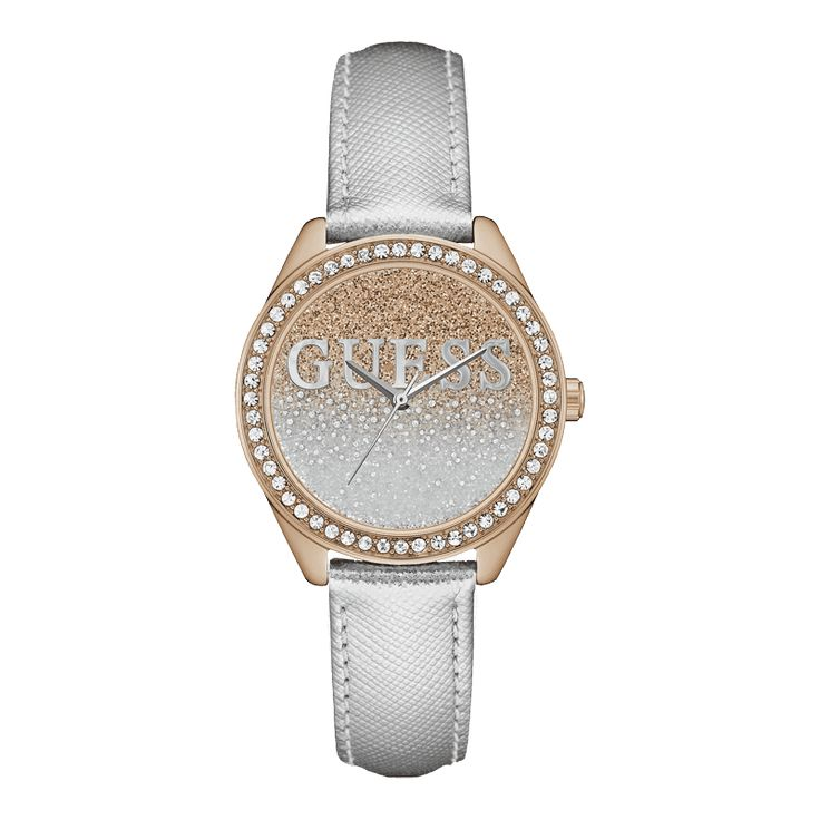 A collection of Iconic signature combinations inspired by the GUESS lifestyle.  Trendy fashion-forward designs from GUESS Watches offer dynamic styling.
