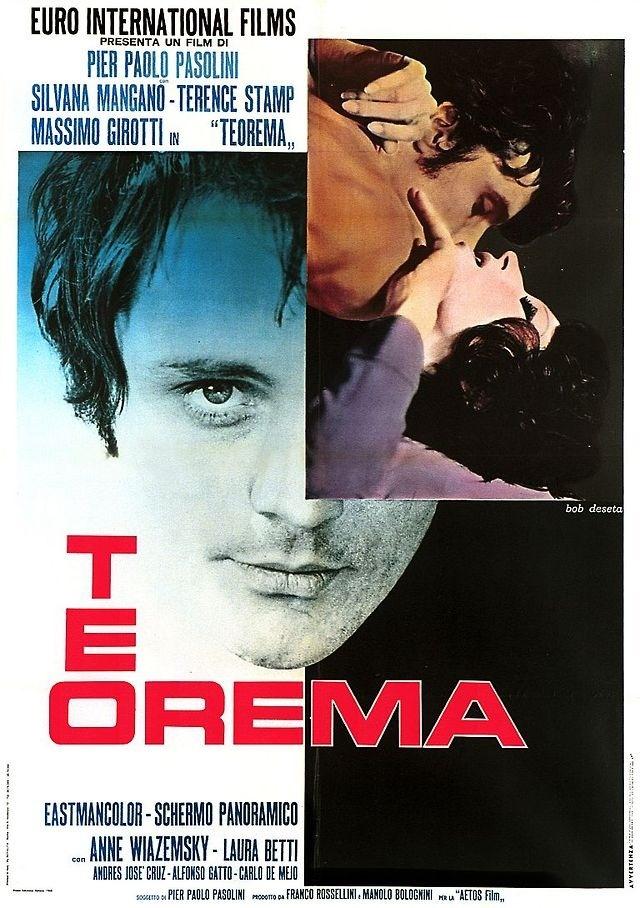 Pasolini, teorema, movie poster