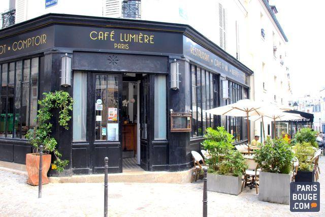 Le Café Lumière, bistrot de quartier rue Saint-Blaise à Paris dans le 20ème