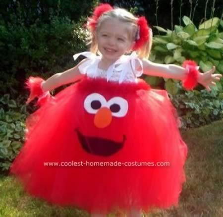 Elmo tutu dress