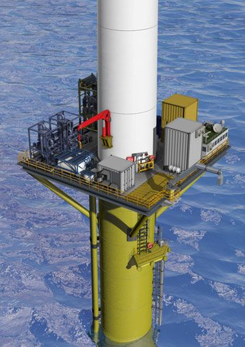 DNV GL intros a promising new concept for wind-powered water injection