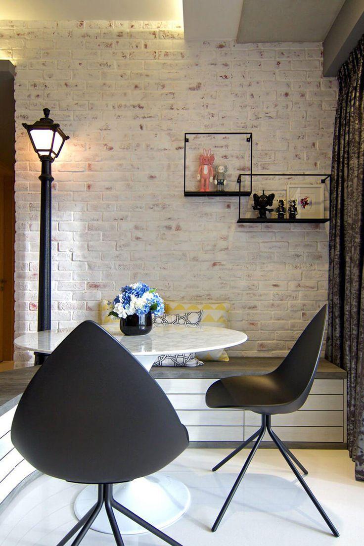 Apartamento com decoração inspirada na paisagem urbana