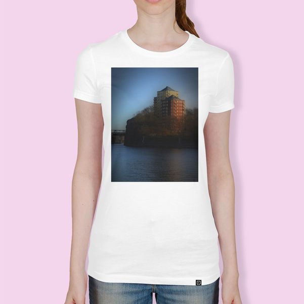 Discover «Henriksdal Stockholm 3», Numbered Edition Women's Classic T-Shirt by Henri Hiltunen - From $25 - Curioos