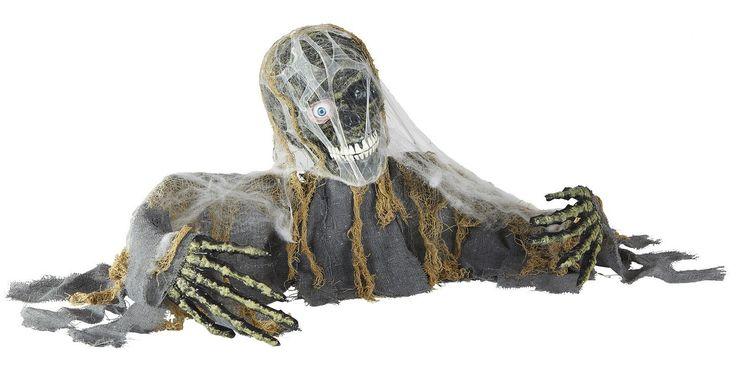 Decorazione zombie animato per Halloween e moltissime altre decorazioni per Halloween, perfette per creare l'ambiente più adatto per la notte più horror dell'anno!