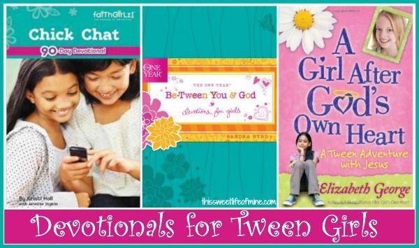 Devotions for Tween Girls | thissweetlifeofmine.com #31days #tweens