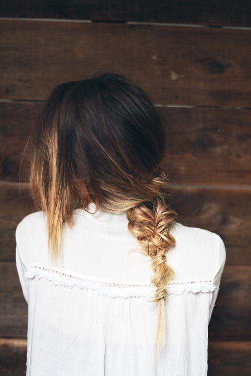 ombre hair / braid
