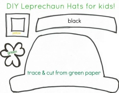 17 best images about st patrick 39 s day crafts on pinterest for Leprechaun mask template