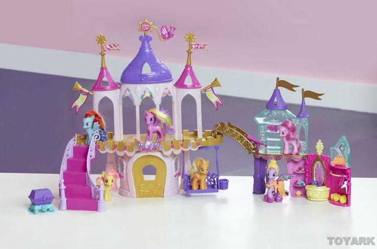 my little pony toys videos | My Little Pony Crystal Princess Palace Toy Fair 2013 Hasbro - The ...