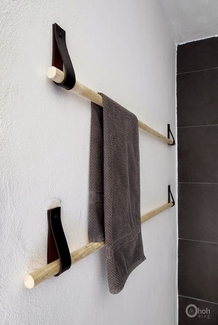 Naifandtastic:Decoración, craft, hecho a mano, restauracion muebles, casas pequeñas, boda: DIY: Toallero sencillo
