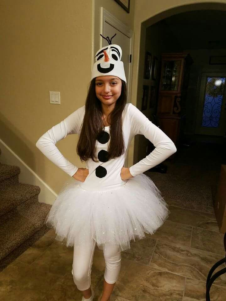 Olaf DIY Halloween Costume