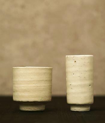 Yunomi (Tea Cup )Produced by Koshun Gama for Azmaya Made in Japan