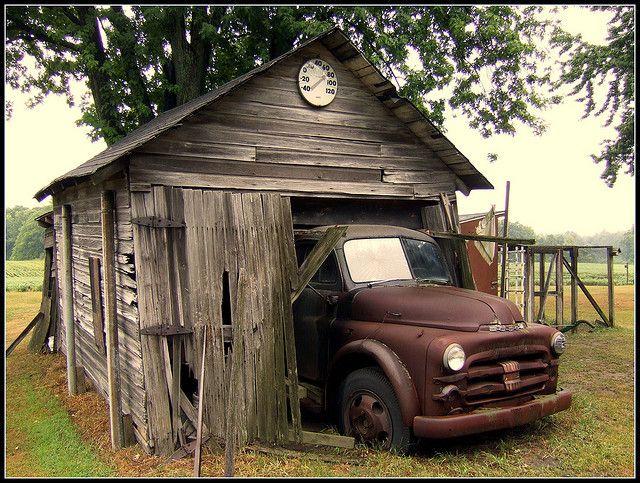 Vieux camion Dodge
