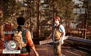 State of Decay   Good survival game with zombie, you have to search food, paintkiller, do mission,etc for your group and if one of your person dead, it's definitely. There is also a big map. The bad thing is after a few hour it's always the same, you have everything so finally the game is easy...