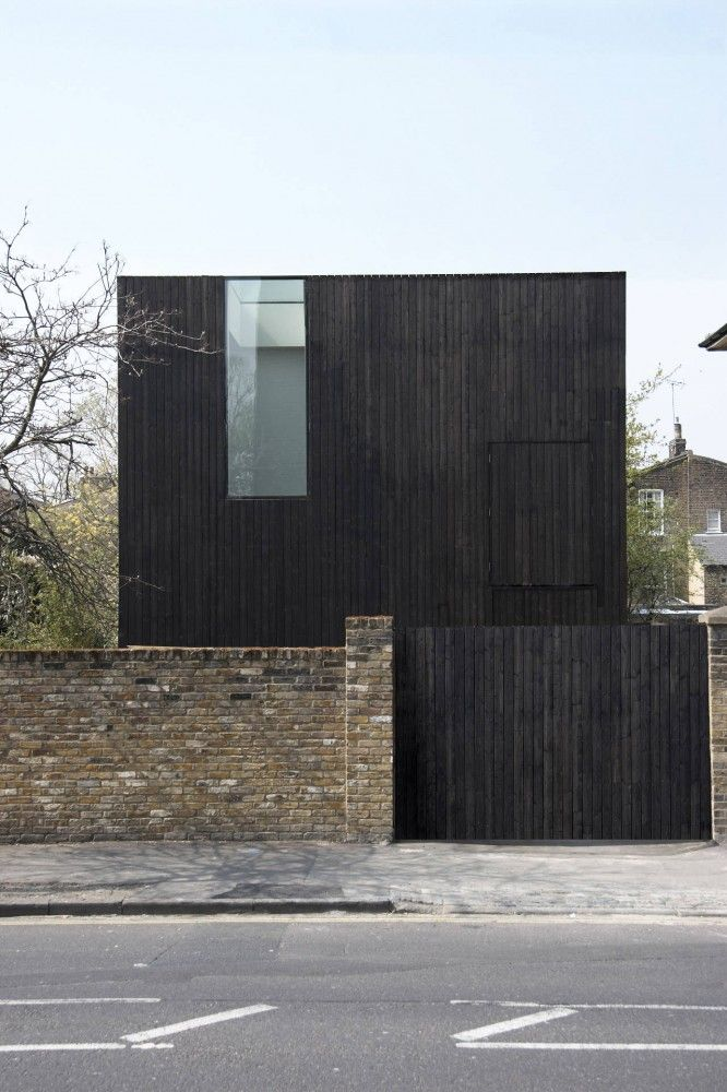 sunken house by adjaye associates