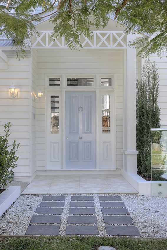 Tips on how to create Front Door Appeal, Gallerie B. Designed by Verandah House.