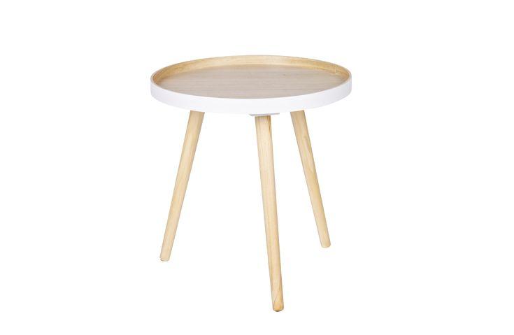 Sasha bijzettafel hout 41x41 | Coffee & nachtkastjes | Woonkamer | Woood
