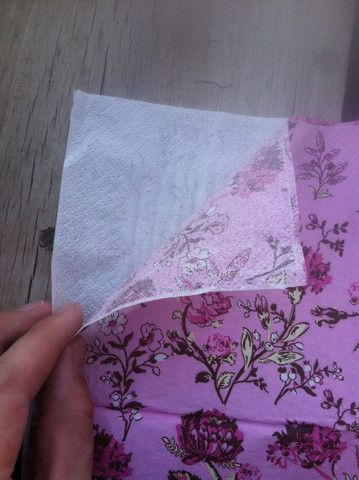 How to use Mod Podge & Napkins on Furniture – Wildflowers & Pistols