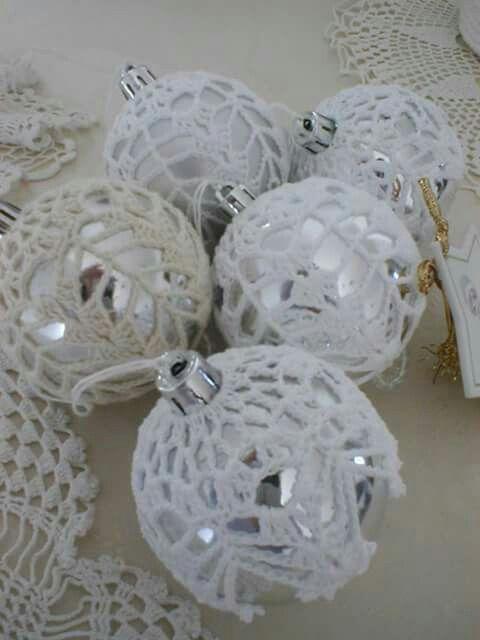 crochet christmas ornaments by Babu Szabo