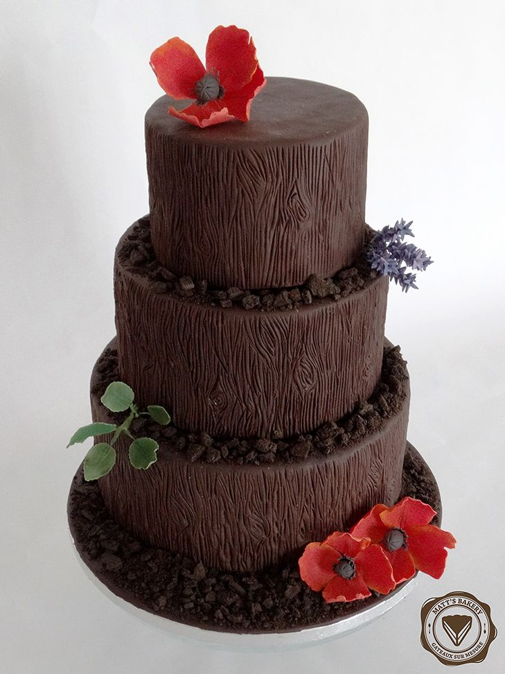 #matts_bakery #cakedesign #angers #natural #chocolate #wedding #cake #satinice #nature #chocolat #mariage #gateau