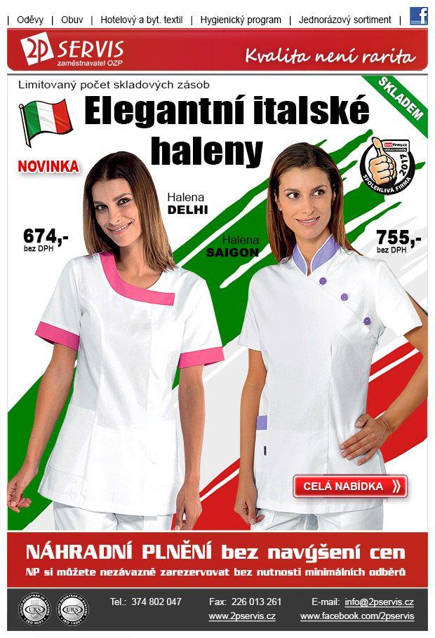 ★ ★ Elegantní haleny přímo z Itálie ★ ★