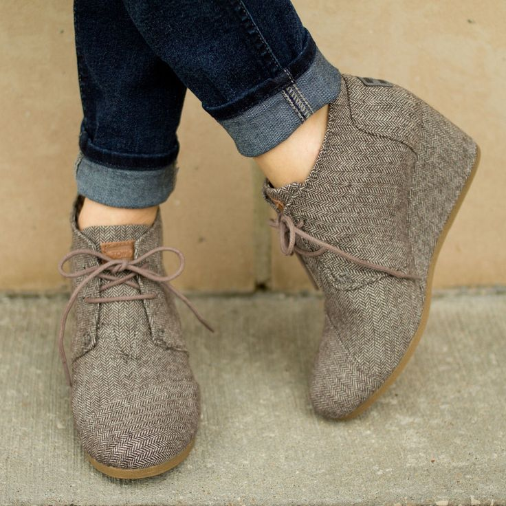 Toms - you may become my new shoe...