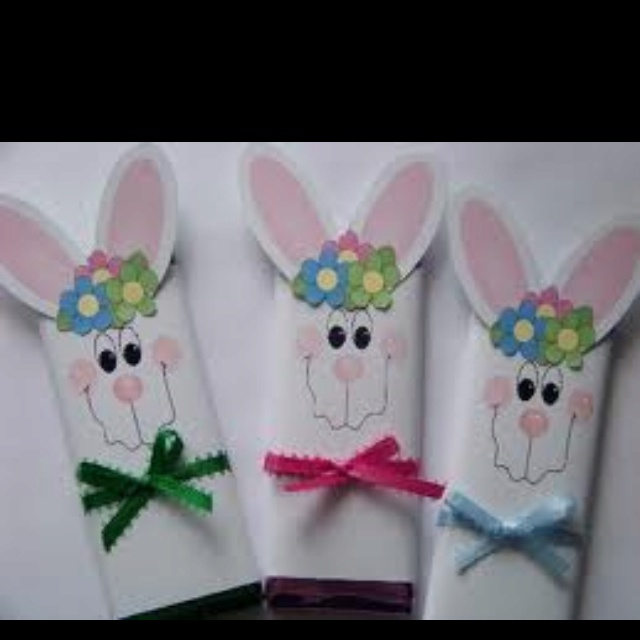 202 best easter favors images on pinterest boxes gift boxes and bunny chocolate bar wrappers link does not work easter spring fun foods creative cuisine negle Image collections