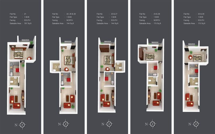 Kshiptha - Apartment Floor Plan