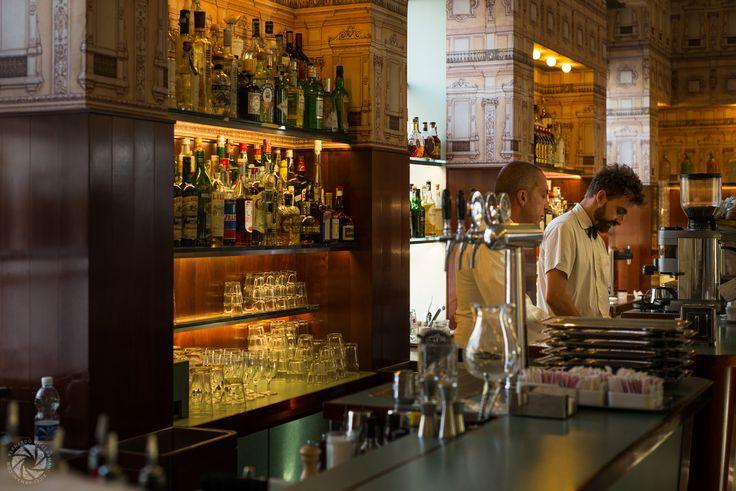 Bar Luce by Wes Anderson (Fondazione Prada)