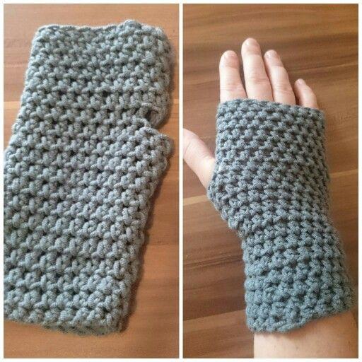 Fingerlose Handschuhe!