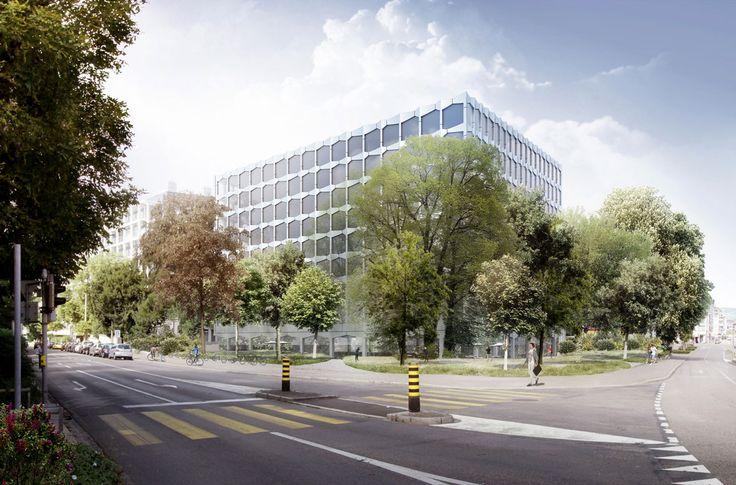Pool Architekten ethz d-bsse | labor- und forschungsgebäude . basel