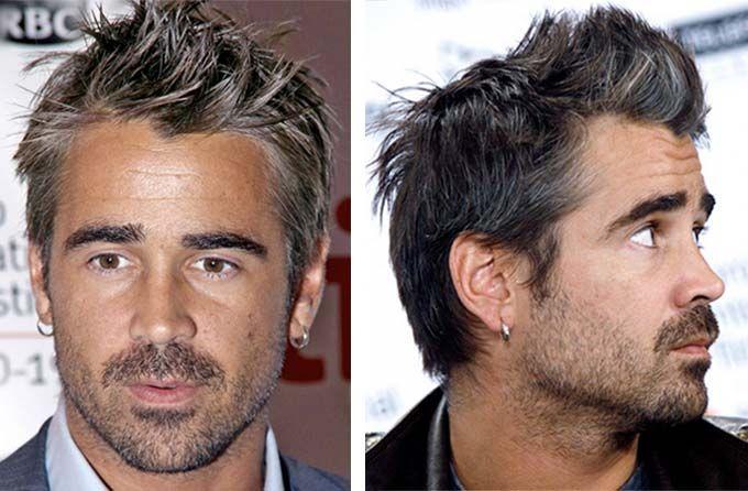 #Homme : camoufler vos #cheveux #blancs