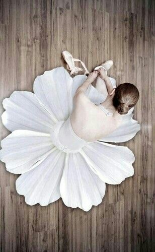 Pretty petal tutu! ~ Thanks to dance I can change costume, hair make-up and shoes in under a minute!